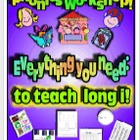 Phonics Workshop - Long i - Everything you need!