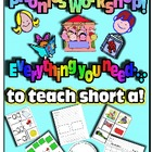 Phonics Workshop - Short a - everything you need!