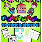 Phonics Workshop - Short e - everything you need!