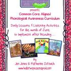 Phonological Awareness Curriculum: Text Based & Common Cor