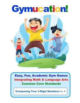 Physical Education Common Core – Comparing Two 3-Digit Num