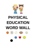 Physical Education Word Wall