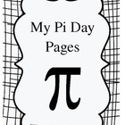 Pi Day Student Activity Pages