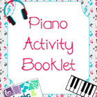 Piano Activity Booklets Bundle