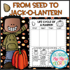 Pick Word Work, Reading, Writing, or Math from the Pumpkin