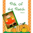 """Pick of the Patch"" Pumpkin Activities"