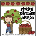 Picking Rhyming Apples