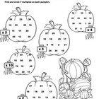 Picky Pumpkins: Multiplication Practice