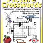 Picture Crosswords 14: The Letters U, V, W, X, Y and Z