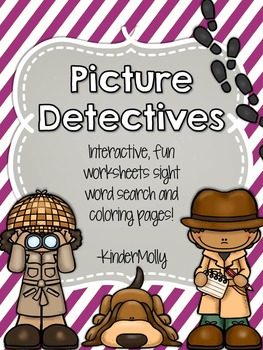 {Picture Detectives} - Kindergarten Pre-Primer Sight Word