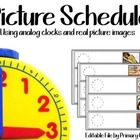 Picture Schedule {Using Photo Images}