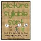 Picture Syllable Sort