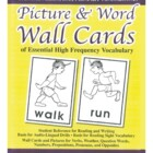 Picture-Word Wall Cards; Pre-school - Beginners
