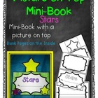 Picture on Top Mini Book {Stars}
