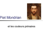 Piet Mondrian Art Powerpoint Lesson- IN FRENCH