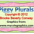 Piggy Plural Noun Activity