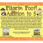 Pilgrim Poof! Addition to 5 {Common Core Aligned}