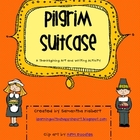 Pilgrim Suitcases, A Thanksgiving Writing and Art Activity
