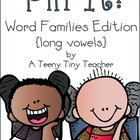 Pin It! Word Families Edition {long vowels}