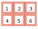 Pink Polka-Dot Calendar Pieces (Years 2013-2014)