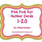 Pink Polka Dot NumberLine/Cards