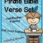 Pirate Bible Verse Set