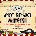 Pirate Birthday Display