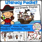 Pirate Loot! Five Greedy Pirates Shared Reading Singable &