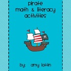 Pirate Math and Literacy Activities