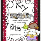 Pirate Organizational Binder