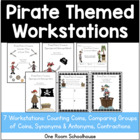 Pirate Pete's Treasure: Math and Literacy Centers