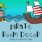Pirate  Room Decor Pack