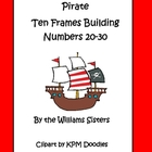 Pirate Ten Frames Working with Numbers 20-30