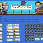 Pirate Theme Calendar for the Smart Board