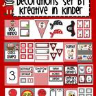 Pirate Theme Classroom Decor Set for the Beginning of the Year