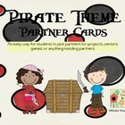 Pirate Theme Partner Cards