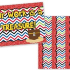 Pirate Themed Bulletin Board Border and Poster