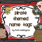 Pirate Themed Name/ Desk Tags