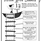 Pirate Word Ladders - 1st Grade