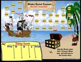 Pirates Buried Treasure Smartboard Attendance with or with