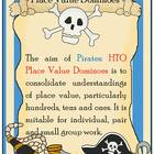 Pirates Place Value HTO Dominoes