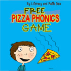 Pizza Phonics:  Free Phonics Literacy Center Game