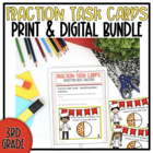 Pizza Pizza {Fraction Task Cards}
