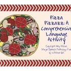 Speech Therapy: Pizza Pizzazz