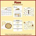 Pizza Preschool Pack