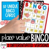 Place Value Bingo *Base 10 Blocks*