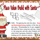 Place Value Build: Building with Santa (10-120)