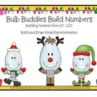 Place Value Bulb Buddies 10-120  Build and Draw