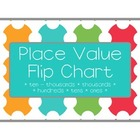 Place Value Flip Chart