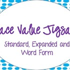 Place Value Jigsaw/Sorting Activity